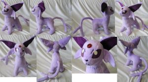 Purple version Espeon by Rens-twin