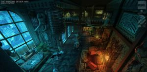 Kraven's apartment by duster132