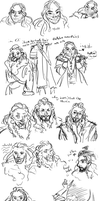 dwarves by murr-ma-ing