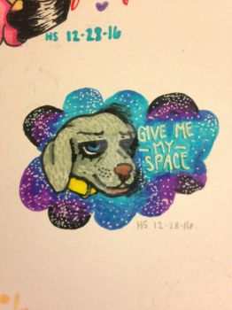 Give Me My Space by Dinocorn-Ink