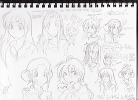 Sketchbook - Chara Comparison by tonifasic