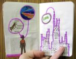 little city moleskine. by Lauraphay