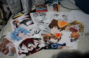 My drawings by usui-pm