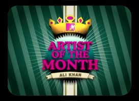 MTV Artist of the Month by aash