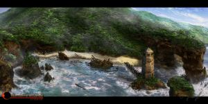 Beach Overview by Victor-Lam-art