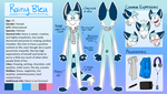 Rainy Bleu - New Reference Sheet 2015 by Rainy-bleu