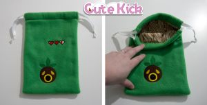 Zelda Deku Mask Bag by cutekick