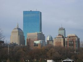 Boston Highrises by hosmer23