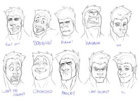Expression practice by Little-Mongolian