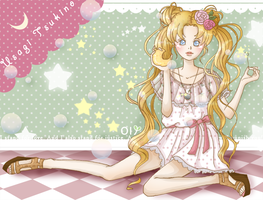 Sailor Moon- Moon Bubbles by lemontree11