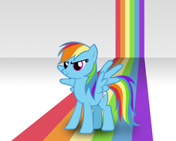 Rainbow Dash - Desktop by PerpetualStudios