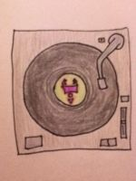 Irken record player by CrypticCharmander