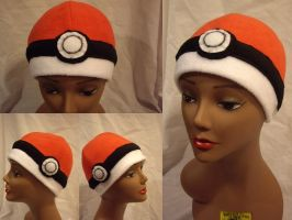 Pokeball Hat 2.0 by FleeceMonster