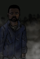 Walking dead games Lee Everett. by AtomicWarpin