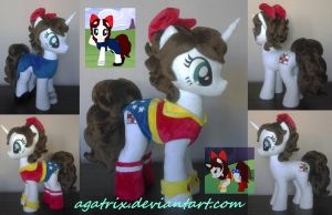 OC LaceySurprise plush by agatrix
