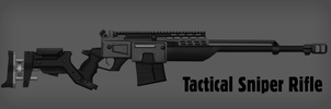 Tactical Sniper Rifle (Fallout) by MG-Croft