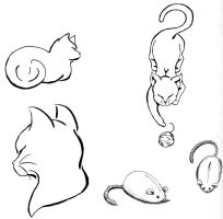 Cat Flash Sheet by analoren