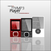 My MP3 Player by LonelyDiary