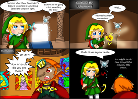 Zelda comic: Light Arrows by purplemagechan