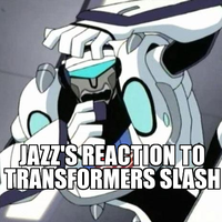 Jazz's reaction by Blurr19