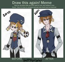 Drew again meme by HappyFoxChelsy
