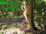 Jungle misadventures (Model: Nina Agdal) by YiYo666