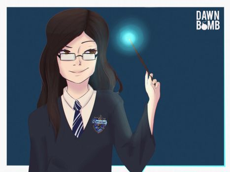 Commission - Who doesn't love Ravenclaw? by dawnbomb
