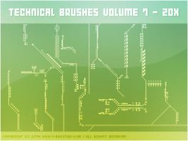 Technical Brushes vol. 7 - 20x by basstar