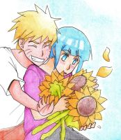 NaruHina: Light colors by Diasu