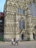 Salisbury Cathedral 2 by angel1592Stock