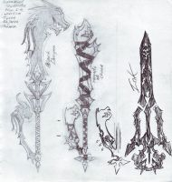 Keyblades by Tyxerus