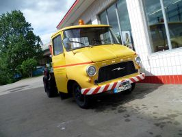 Opel service car by someoneabletofindana