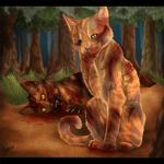 He fought well, for a kittypet. by TheMoonfall