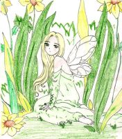 Fairy in green by Angor-chan