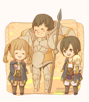 FEA: kellam family by WinterCookies
