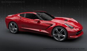 Chevy Stingray By Me Final by koleos33