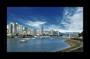 False Creek, Vancouver, BC. by DTherien