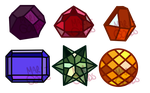 (CHARITY) Pride myst. gemstone adopts (CLOSED) by Mari-Golds