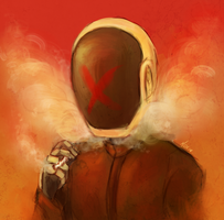 Daft Punk: Smoke by Morisaurus