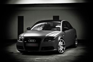 Audi A4 Low and mean by Clipse89