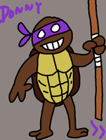 Donatello by TheSuperMario