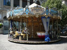 Carrousel by Cat-in-the-Stock