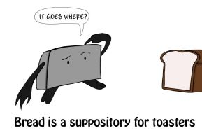 Toaster suppository by Yami7093