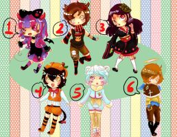 Left over 1 (Closed) by Toki-Doki-Adoptables