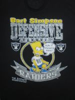 Bart Simpson: Defensive Dude (Oakland Raiders) by MahBoi-DINNER
