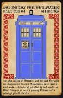 Police Box Parchment 13,000 by Carthoris