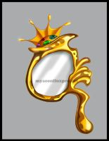 Gold Mirror by myaeonfluxproject