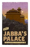 Visit Jabba's Palace by BurnCreative