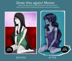Draw This Again: Marceline by Woonk