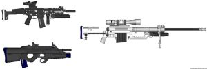 ACR, F2000, and M200 by Hellkiller777